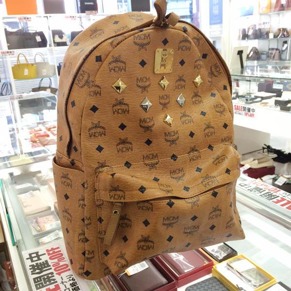 sale retailer c4797 4e229 MCM 若者に大人気のリュックを売るなら関東に3店舗の夢市場にお ...